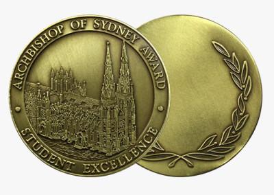 Archbishop's Award Custom Medal