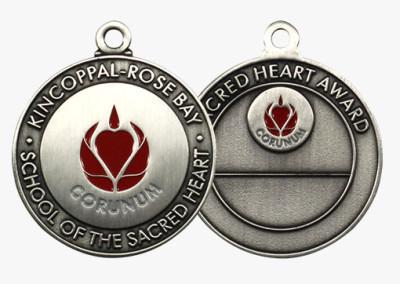 Kincoppal Sacred Heart Award Custom Medal