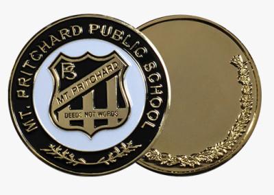 Mt Pritchard Public School Custom Medal